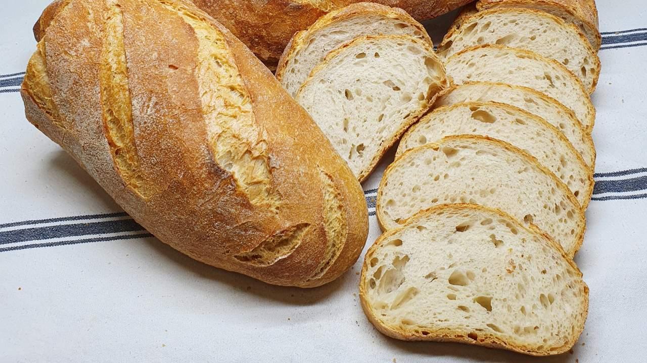 Pan sin levadura natural