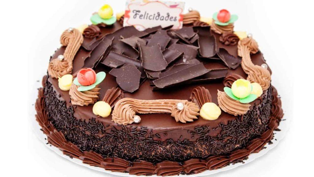 tarta de chocolate grande