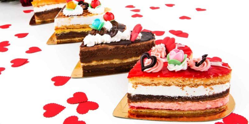 tartas de corazón