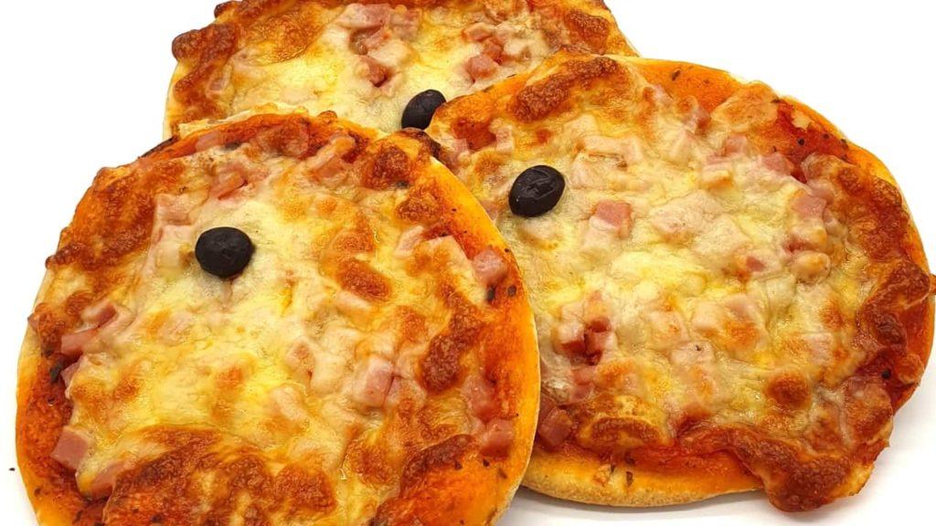 pizzas redondas
