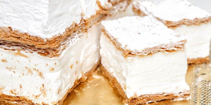 milhojas de merengue