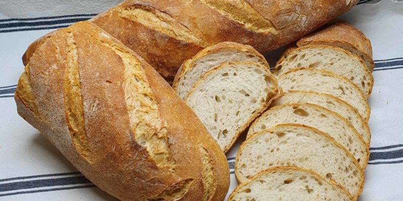 Pan natural sin levadura