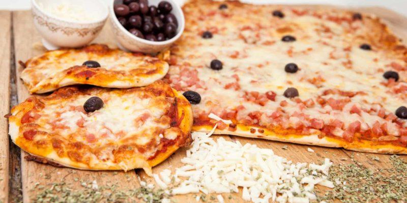 Llanda pizza jamón