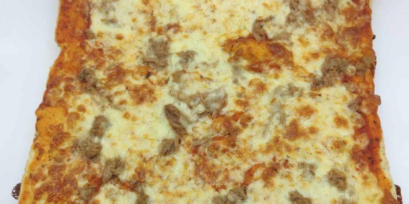 Llanda de pizza de atún